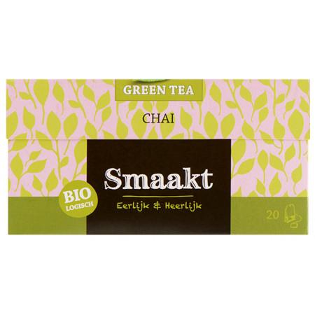 Ceai verde Chai bio 20 plicuri Smaakt