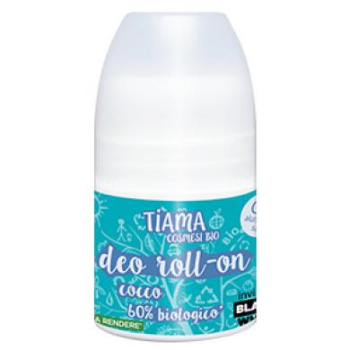 Deodorant roll-on cu cocos bio 50ml Tiama