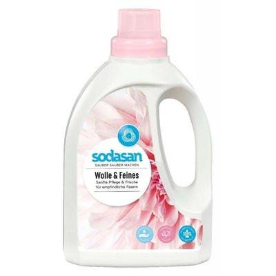 Detergent bio lichid pt. lana, matase si rufe delicata 750 ml Sodasan
