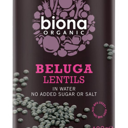 Linte neagra Beluga eco 400g Biona