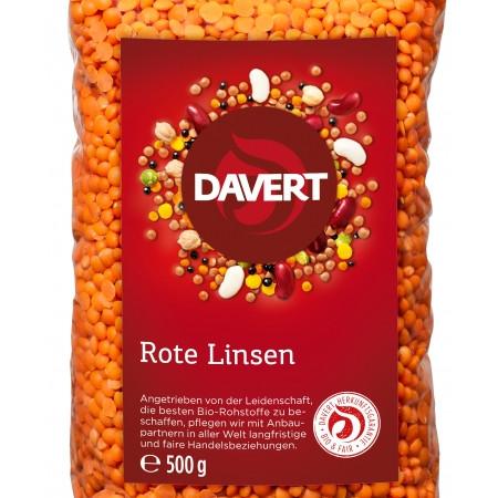 Linte rosie bio 500g DAVERT