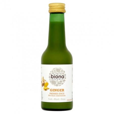 Suc de ghimbir eco 200ml Biona