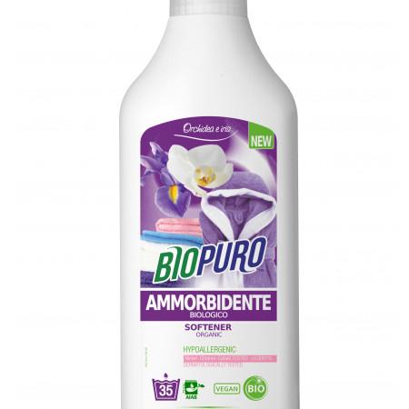 Balsam hipoalergen pentru rufe iris si orhidee bio 1 L Biopuro