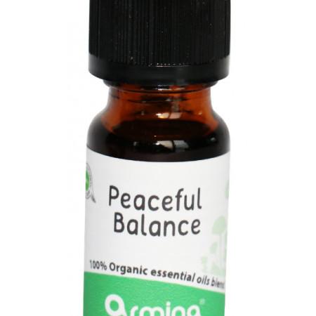 Blend din uleiuri esentiale PEACEFUL BALANCE pentru difuzer bio 10ml ARMINA