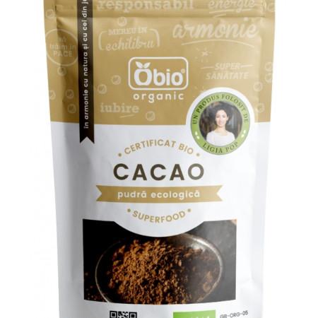 Cacao pudra raw eco 125g Obio