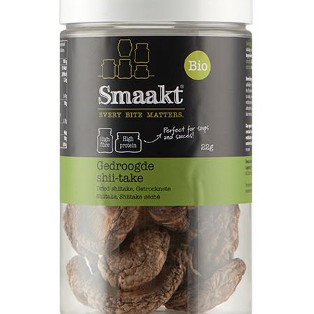 Ciuperci uscate Shiitake bio 22g Smaakt