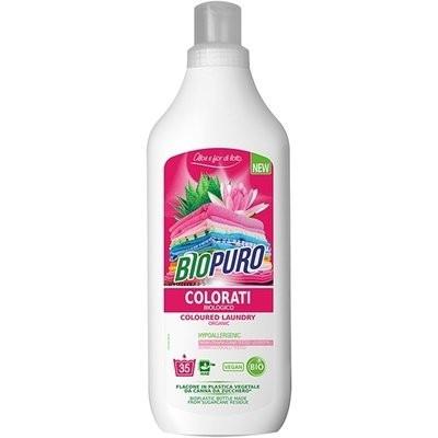 Detergent hipoalergen pentru rufe colorate bio 1L