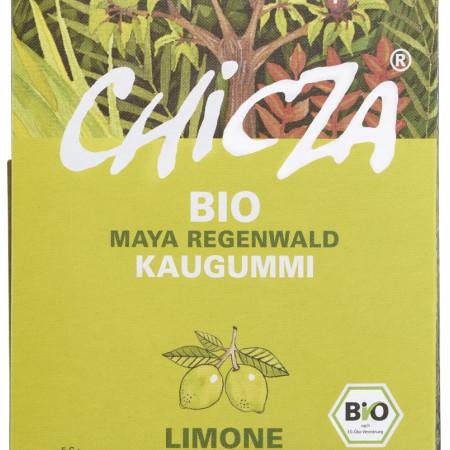 Guma de mestecat cu lamaie bio 30g Chicza