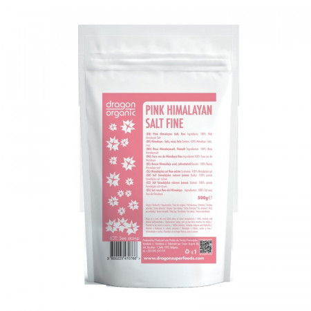 Sare roz de Himalaya fina 500g Smart Organic