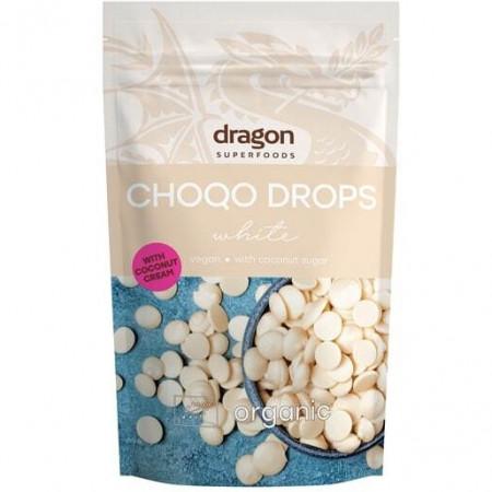 Choco drops White ciocolata alba eco 250g DS