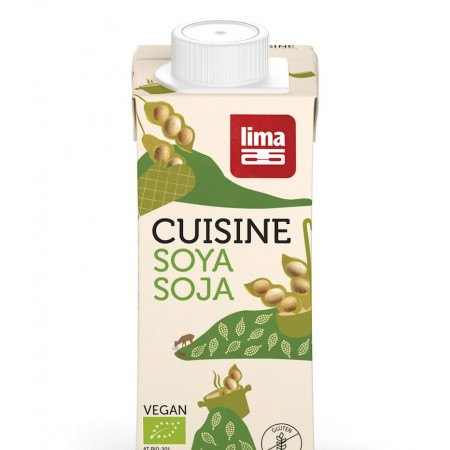 Crema de soia eco 200ml Lima