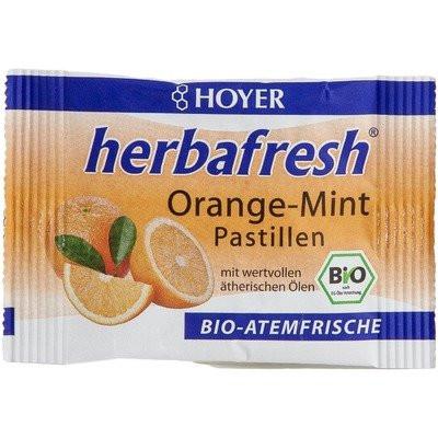 Herbafresh pastile respiratie proaspata cu menta si portocale eco 17g