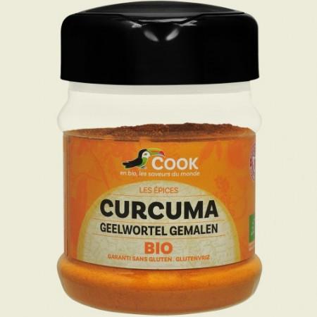 Turmeric pudra bio 200g Cook