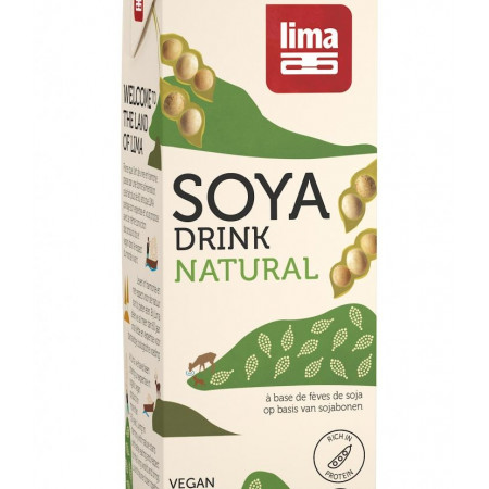 Bautura vegetala de soia eco 1L Lima