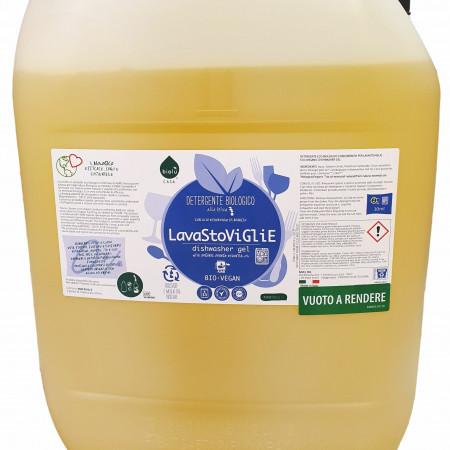 Biolu Gel ecologic pentru masina de spalat vase 20L