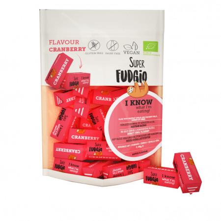 Caramele eco - aroma merisoare 150g Super Fudgio