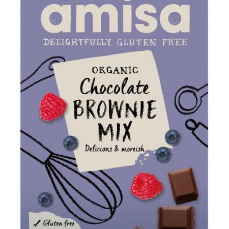 Mix pentru prajitura brownie fara gluten eco 400g