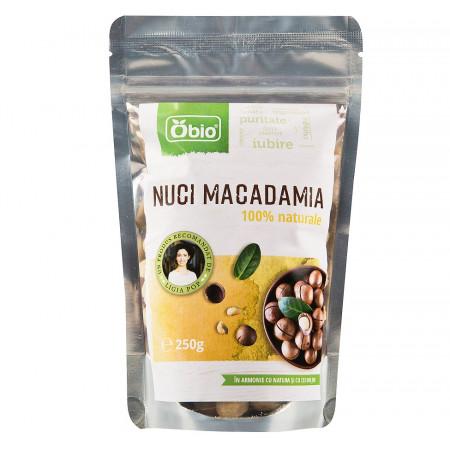 Nuci macadamia eco 250g OBIO