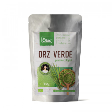 Orz verde pulbere eco 250g Obio