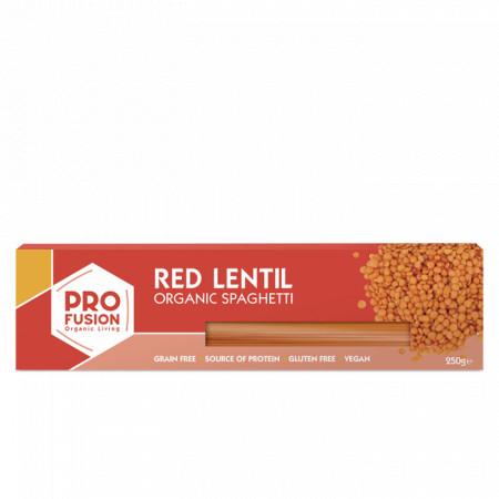 Spaghetti din linte rosie eco 250g Profusion