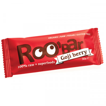 Baton Roobar cu goji raw eco 30g