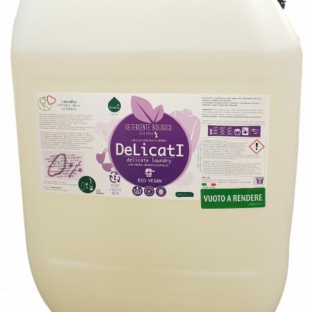 Biolu detergent ecologic pentru rufe delicate 20L