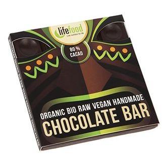 Ciocolata cu 80% cacao raw eco 35g Lifefood