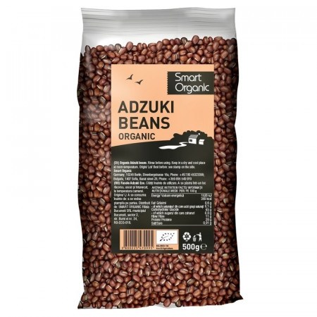 Fasole Azuki eco 500g Smart Organic