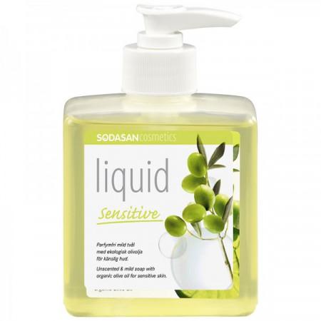 Sapun lichid - gel de dus bio sensitiv 300ml Sodasan