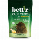 Chips din kale cu mustar raw eco 30g Bettr