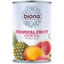 Cocktail de fructe tropicale bio 400g Biona