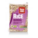 Rondele de orez expandat cu quinoa eco 130g Lima