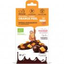 Coaja de portocala invelita in ciocolata bio 80g Super Fudgio