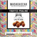Trufe de ciocolata belgiana cu praline, artizanale, Madagascar, eco 75g, Millesime