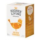 Ceai GOLDEN TURMERIC eco, 15 plicuri, Higher Living