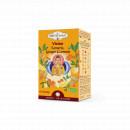 Ceai Shotimaa Chakras - Vision - turmeric, ghimbir si lamaie bio 16dz