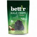 Chips din kale cu ciocolata raw eco 30g Bettr