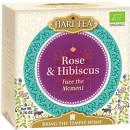 Ceai premium Hari Tea - Face the Moment - trandafiri si hibiscus bio 10dz