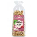 Penne din orez integral fara gluten eco 500g Amisa