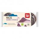 Rondele din orez expandat cu ciocolata neagra eco 100g Lima