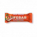 Lifebar plus baton cu guarana si nuci braziliene eco 47g