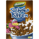 Cereale ursuleti cu ciocolata bio 250g Dennree