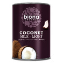 Lapte de cocos eco Biona light 400ml