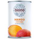 Mango bucati in suc de mango eco 400g Biona