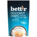 Chips de cocos cu sare eco 70g BETTR