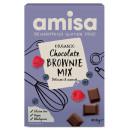 Mix pentru prajitura brownie fara gluten eco 400g Amisa