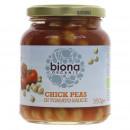 Naut in sos de rosii eco 350g Biona