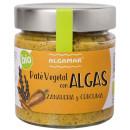 Pate vegetal cu alge, morcovi si turmeric eco 180g Algamar