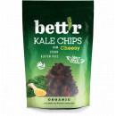 Chips din kale cu aroma de branza raw eco 30g Bettr