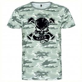 Камуфлажна тениска ACAB SKULL изображения
